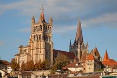 Lausanne Royaltyfri Bild
