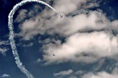 Lausanne airshow - Switzerland. Airshow in Lausanne & x28;Blécherette& x29; - Switzerland stock image