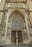 Lausanne  cathedral Royalty Free Stock Photos