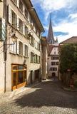 Lausanne domkyrka Arkivbilder