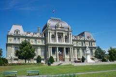 Lausanne domstolsbyggnad Royaltyfri Bild