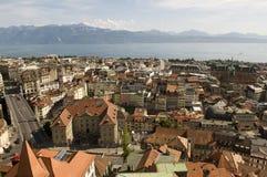 Lausanne en Suiza Foto de archivo libre de regalías