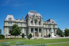 Lausanne gmach sądu Obraz Royalty Free