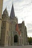 Lausanne katedra Zdjęcia Royalty Free
