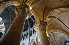 Lausanne katedra Zdjęcie Royalty Free