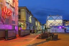 Lausanne Schweitz Arkivfoton
