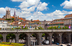 Lausanne Schweiz Royaltyfri Foto