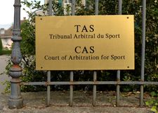 Lausanne, Switzerland - June 05, 2017: Court of Arbitration for. Sport, CAS Tribunal arbitral du sport, TAS in Lausanne, Switzerland Royalty Free Stock Photos