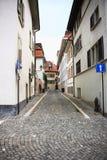 Lausanne ulica Zdjęcie Royalty Free