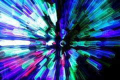 Laut summender Leuchte-Hintergrund Stockfoto