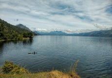 Laut tawar jezioro Fotografia Royalty Free
