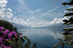 Laut tawar lake. A lake from Aceh Tengah, aceh province - Indonesia Royalty Free Stock Photo