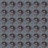 Laute Lautsprecher Stockfoto