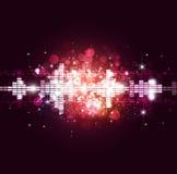Lauter Musik-Hintergrund Lizenzfreie Stockfotografie