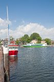Lauterbach Harbor,Ruegen Island,baltic Sea,Germany Stock Image