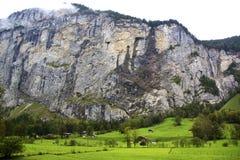 lauterbrunnen долина Стоковые Фото