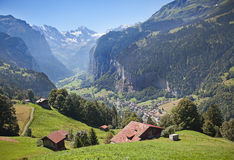 Lauterbrunnen Stock Photo