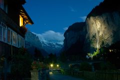 Lauterbrunnen Stock Photography