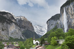 Lauterbrunnen Stockfotos