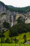 Lauterbrunnen Stockfoto