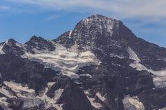 Lauterbrunnen Breithorn, die Schweiz Stockfotos
