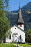 Lauterbrunnen church Stock Images