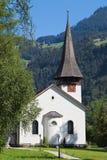Lauterbrunnen church Stock Images