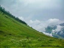 lauterbrunnen dalen Arkivfoton