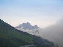 lauterbrunnen dalen Royaltyfri Fotografi