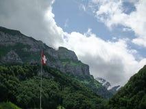 lauterbrunnen dalen Arkivfoto