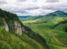 lauterbrunnen dalen Royaltyfri Foto