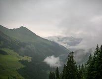 lauterbrunnen dalen Arkivbilder