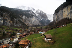 Lauterbrunnen Royalty Free Stock Photography