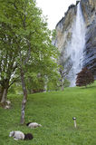 Lauterbrunnen, Suisse Photo stock