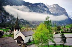 Lauterbrunnen, Svizzera Fotografia Stock Libera da Diritti