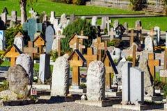 Lauterbrunnen, Svizzera - 17 ottobre 2017: Monum tradizionale Immagine Stock