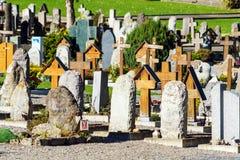 Lauterbrunnen, Svizzera - 17 ottobre 2017: Monum tradizionale Fotografie Stock