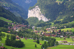 Lauterbrunnen in Switzerland Royalty Free Stock Images