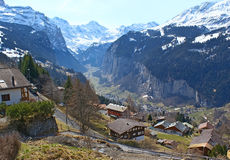 The Lauterbrunnen Valley Royalty Free Stock Photography