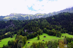 Lauterbrunnen Valley, Jungfrau Region, Switzerland Royalty Free Stock Photography