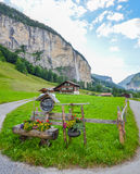 Lauterbrunnen valley, Switzerland Stock Photography