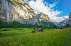 Lauterbrunnen valley, Switzerland Royalty Free Stock Photo