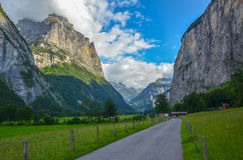 Lauterbrunnen valley, Switzerland Royalty Free Stock Photography