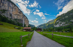 Lauterbrunnen valley, Switzerland Stock Images