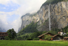 Lauterbrunnen Valley in Switzerland Royalty Free Stock Image