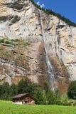 Lauterbrunnen waterfall Stock Image