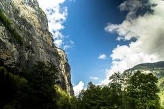 Lauterbrunnenbergen Switserland stock fotografie
