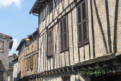 Lautrec (France), old village Royalty Free Stock Photos