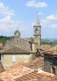 Lautrec (France), old village. Lautrec (Tarn, Midi-Pyrenees, France), medieval village: panoramic view Stock Photo