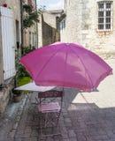 Lautrec (France), old village. Lautrec (Tarn, Midi-Pyrenees, France), medieval village: a street Stock Photography